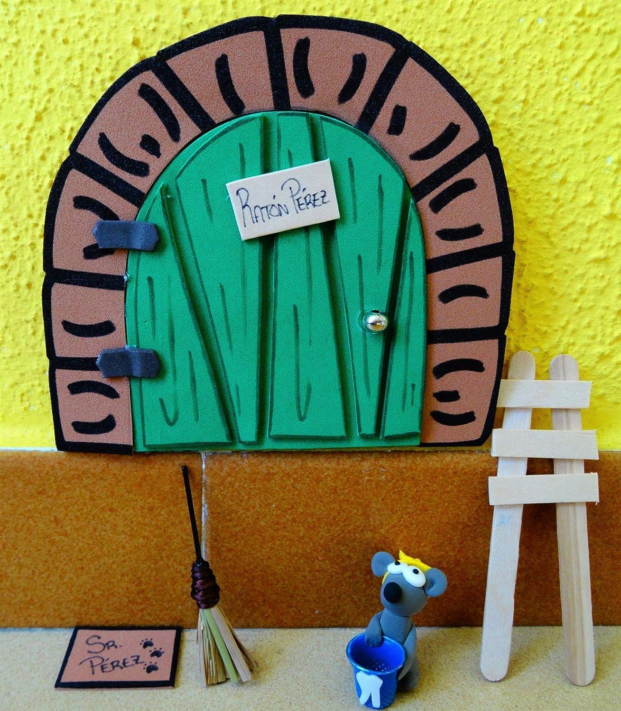 La puerta mágica del ratoncito Pérez personalizable. Incluye ...