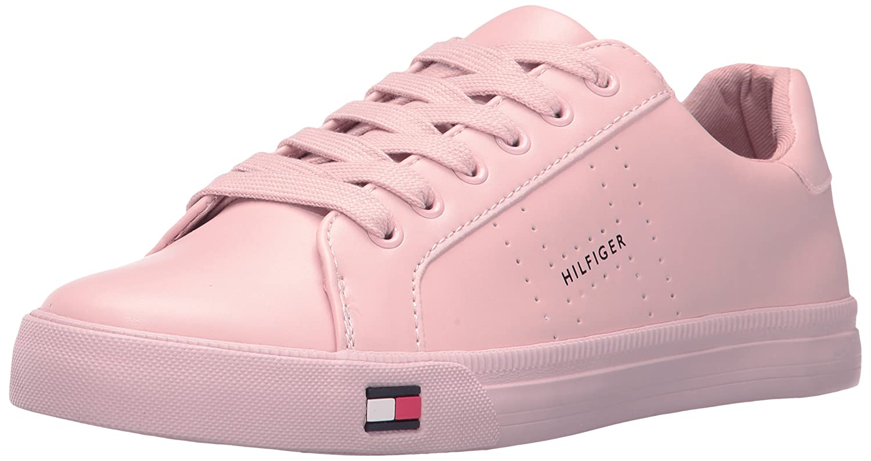 95797386 Amazon.com | Tommy Hilfiger Women's Luster Sneaker | Fashion Sneakers