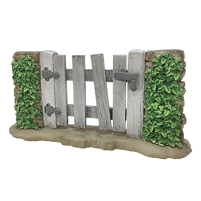 Ultimate Source Mr McGregor's Garden Gate for Miniature Garden, Fairy Garden
