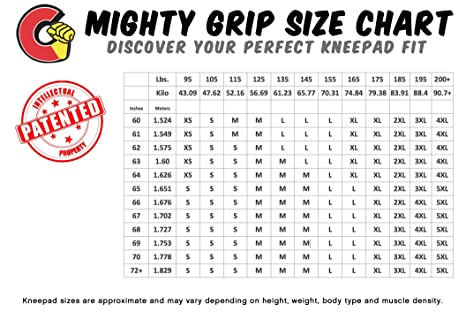 Mighty Grip Pro Tacky Knee Pads for Floor /& Pole Dance Nude