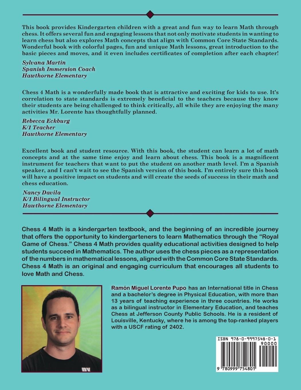 Amazon.com: Chess 4 Math (9780999754801): Ramón Miguel Lorente Pupo ...
