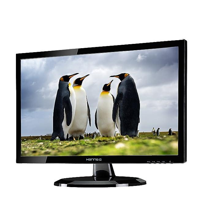 HannsG HE247DPB 59,9 cm LED-Monitor schwarz: Amazon.de: Computer ...