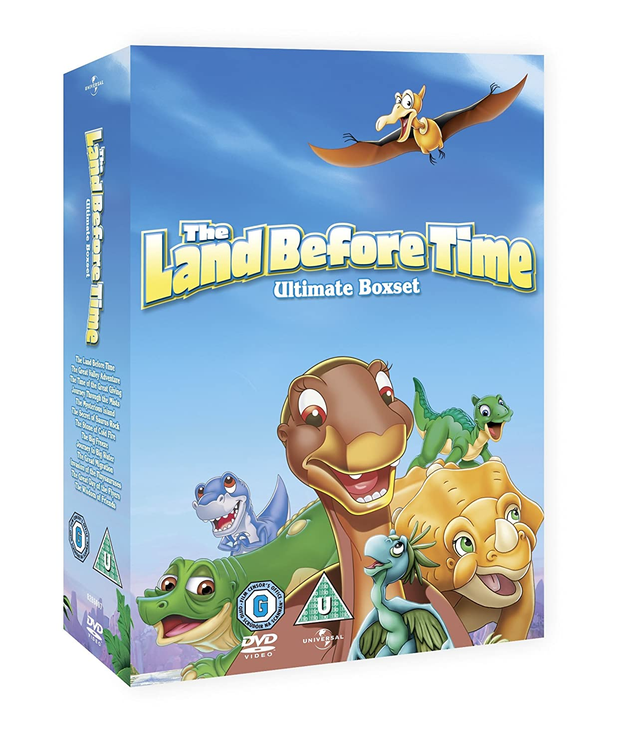 land before time complete 1 13 the dvd amazon co uk don
