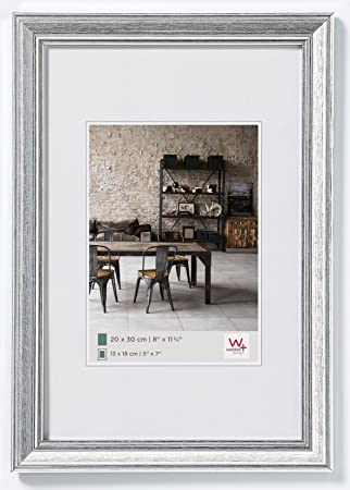Bekannt walther design JA030S Bilderrahmen Lounge, 20 x 30 cm, silber LC13