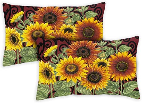 Toland Home Garden 731215 Sunflower Medley 12 x 19 Inch Indoor/Outdoor