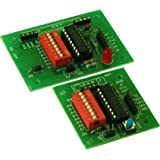 ELEMENTZ RF WIRELESS COMMUNICATION BOARD with ENCODER DECODER - HT12E & HT12D for RF 315/433/434/866 Modules