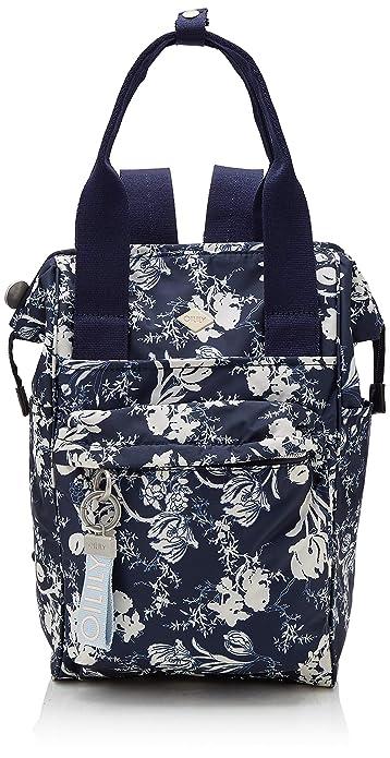Oilily - Groovy Backpack Mvz, Mochilas Mujer, Azul (Blau (Dark Blue)