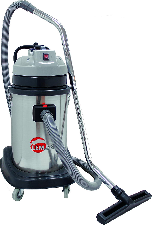 Leman ASP305 Aspirador con capacidad del deposito de recogida de 30 litros (inox, 1200W), 1200 W, gris: Amazon.es: Bricolaje y herramientas