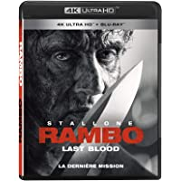 RAMBO: LAST BLOOD (Rambo : La dernière mission) [4K + Bluray] [Blu-ray] (Bilingual)