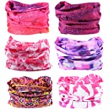 Oureamod Wide Headbands for Men and Women Athletic Moisture Wicking Headwear for Sports,Workout,Yoga Multi Function