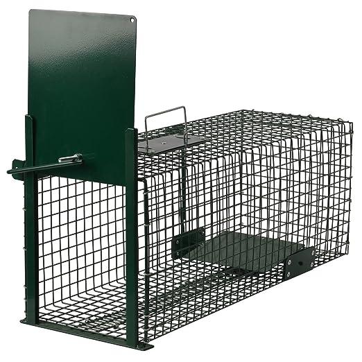 56 opinioni per Moorland Trappola stabile e robusta animali vivi 60x23x23cm efficace gabbia per