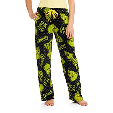 230f3fedef4e Dr. Suess Grinch License Pajama Super Minky Plush Fleece Sleep Pant (Small  4