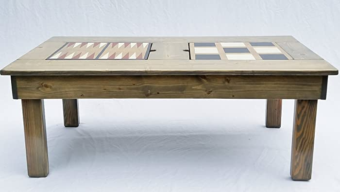 Merveilleux Coffee Table, Game Table Features 4 Games, Indoor Or Outdoor