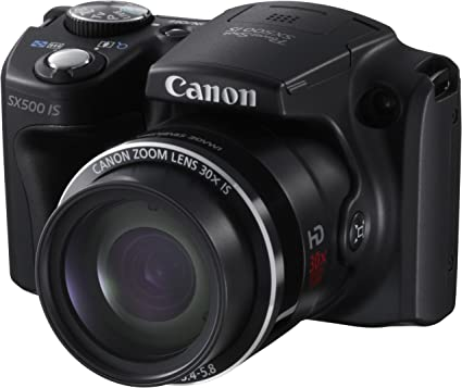 Canon Powershot SX500 IS - Cámara compacta de 16 MP (Pantalla de 3 ...