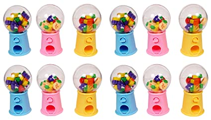 Jiada Cute Little Eraser Dispenser Birthday Return Gift Pack Of 12