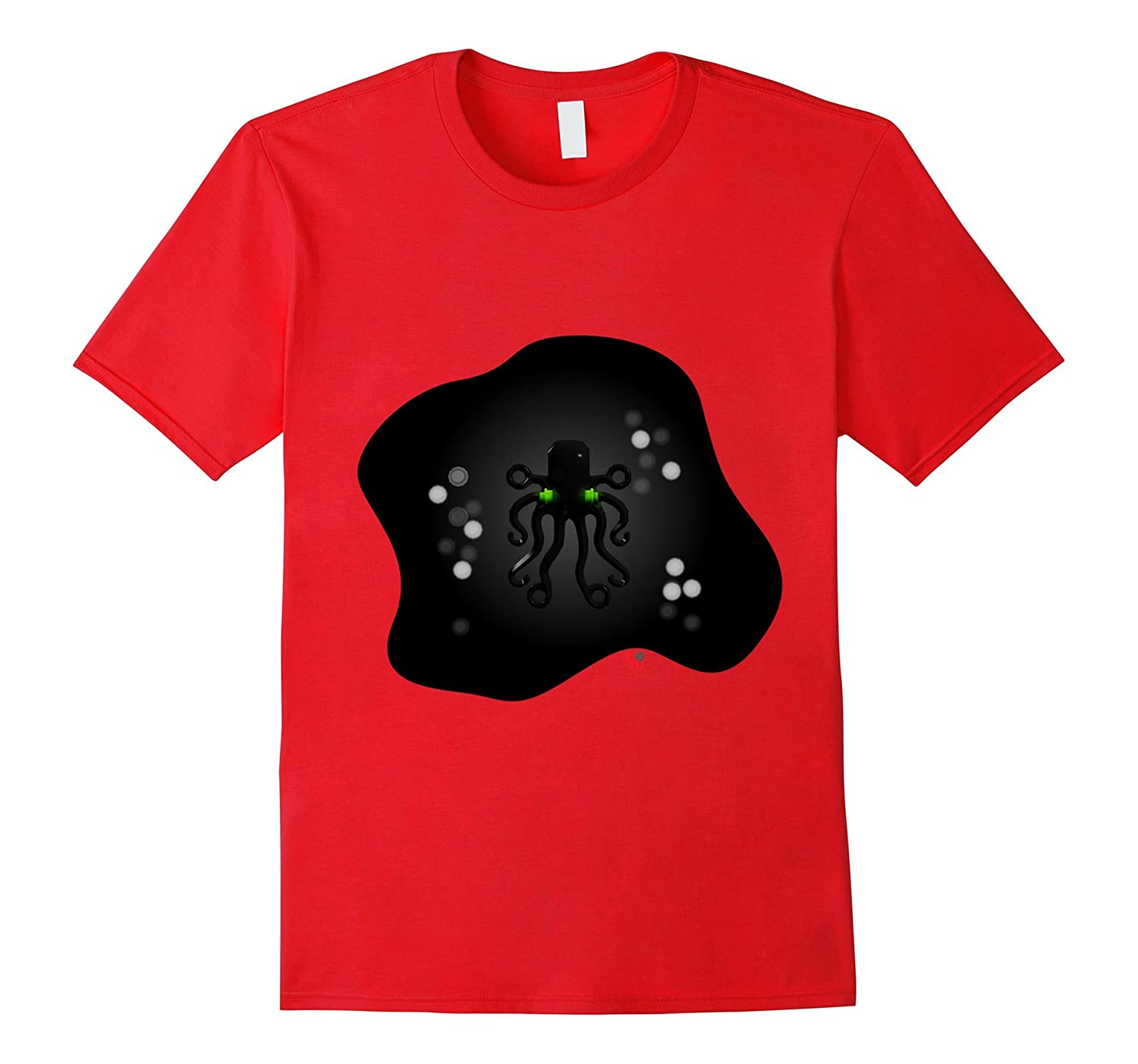 Brick Octopus Studs shirt Bricks on the Dollar aqua-CL