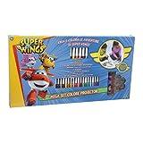 Giochi Preziosi UPC02000 - Super Wing Set Colore e Disegno con Proiettore e Pennarelli
