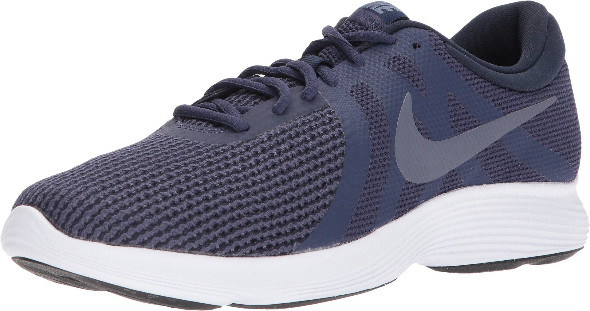 Nike Men's Revolution 4 Running Shoe (11.5 M US, NTRL Indigo Lt CRBN Obsidian)