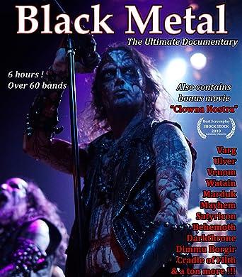 Amazon Com Black Metal The Ultimate Documentary Blu Ray