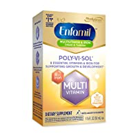 Enfamil Poly-Vi-Sol with Iron Multivitamin Supplement Drops for Infants and Toddlers...