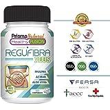 Potente Probiótico con Aloe Vera e Inulina [10 mil millones UFC] – Regula el tránsito intestinal y Mejora la digestión – Previene el estreñimiento – Acción depurativa – Elimina toxinas – 60 unidades