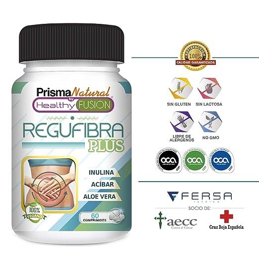 Potente Probiótico con Aloe Vera e Inulina [10 mil millones UFC] - Regula el tránsito intestinal y Mejora la digestión - Previene el estreñimiento - Acción ...