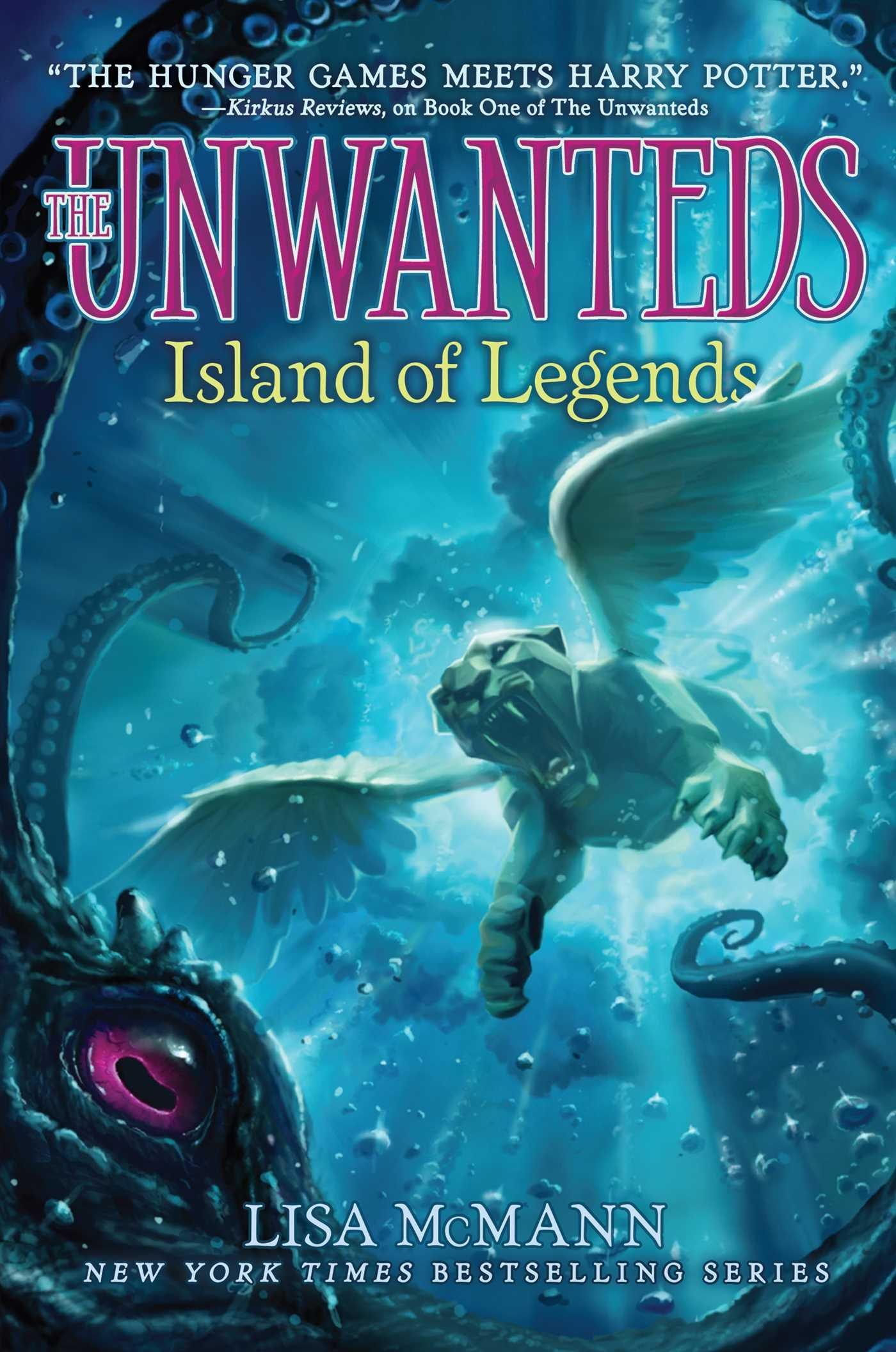 Island of Legends (The Unwanteds): Lisa McMann: 9781442493292 ...