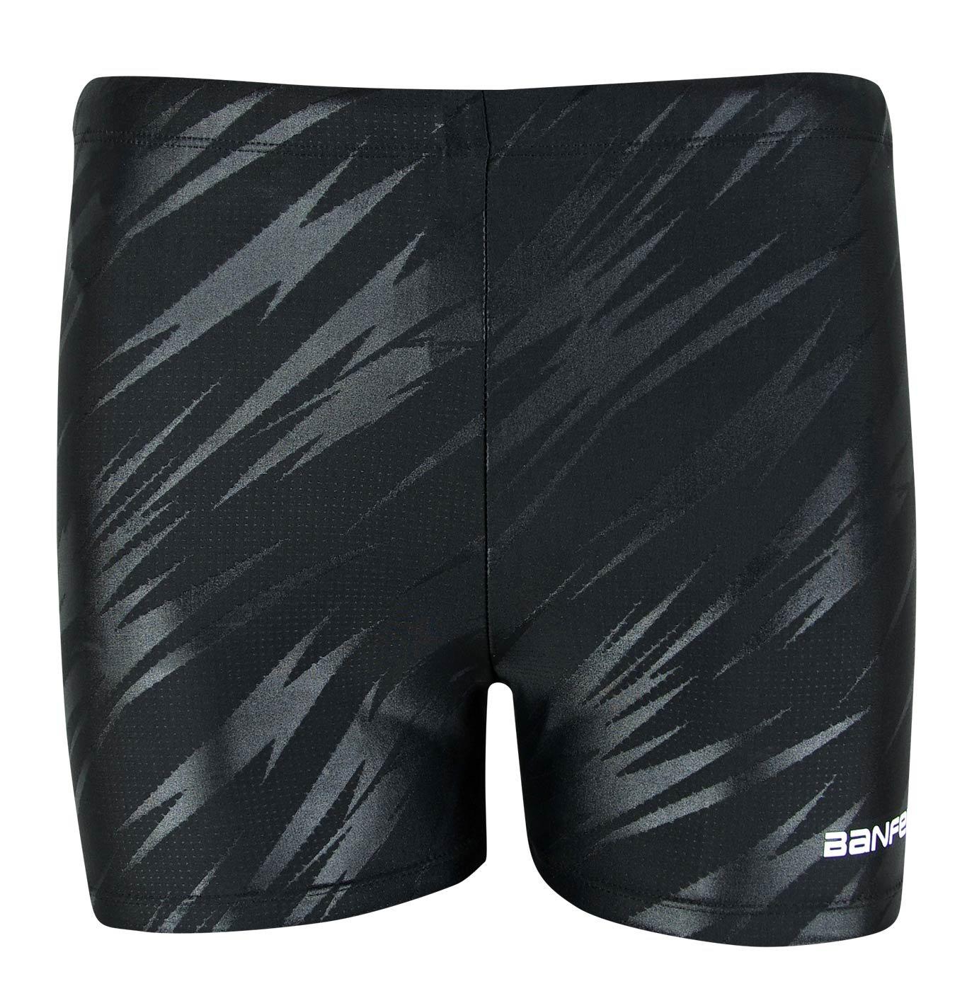 Banfei Men\'s Solid Fashion Rapid Quick Dry Square Leg Swimsuit Swimwear Designed for Performance