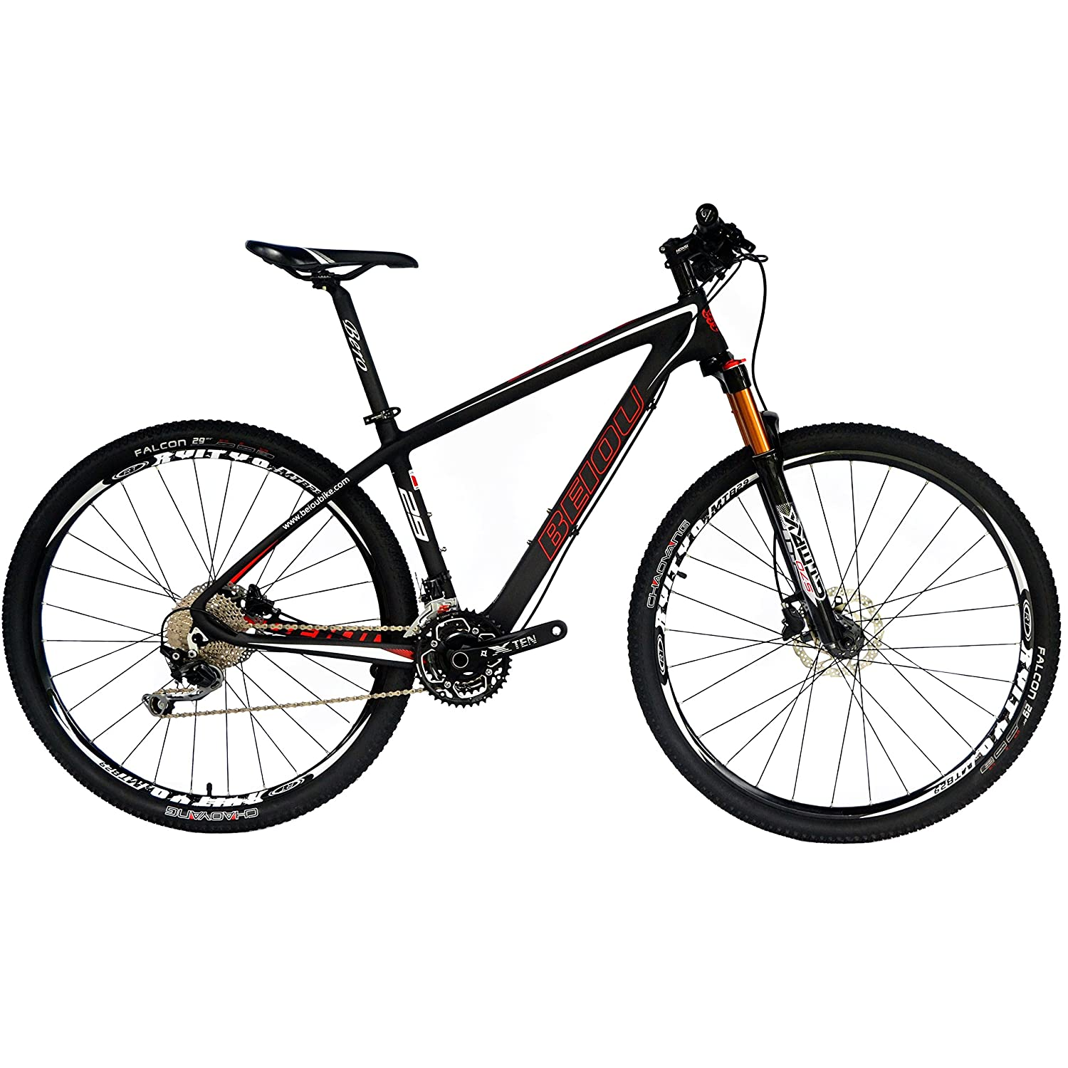 Carbon Fiber Mountain Bike >> Beiou Carbon Fiber 27 5 Mountain Bike 10 7kg 29 Hardtail Bicycle 2 10 Tires Shimano Deore M6000 30 Speed Xc Trail Mtb 650b 29er T800 Ultralight
