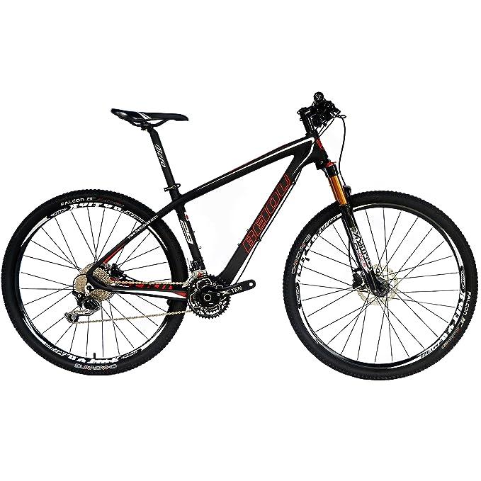 bf62a76e0a5 Amazon.com : BEIOU Carbon Fiber 27.5 Mountain Bike 10.7kg / 29