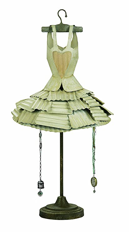 Creative Co Op Cottage Chic Decorative Metal Dress Form With Hooks