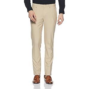 15d1f2caef3 blackberrys Men s Slim Fit Formal Trousers (NL-S-Edwin   Black 32W x ...