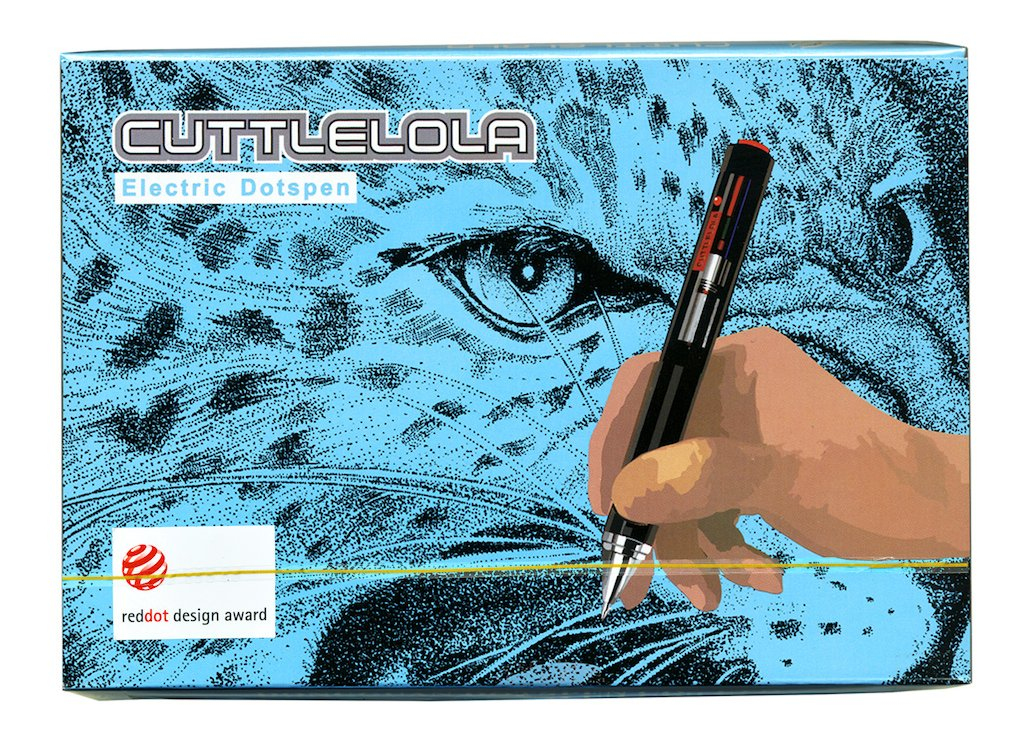Cuttlelola Dotspen World's First Electric Drawing Pen for Illustration,Stippling,Manga by Cuttlelola