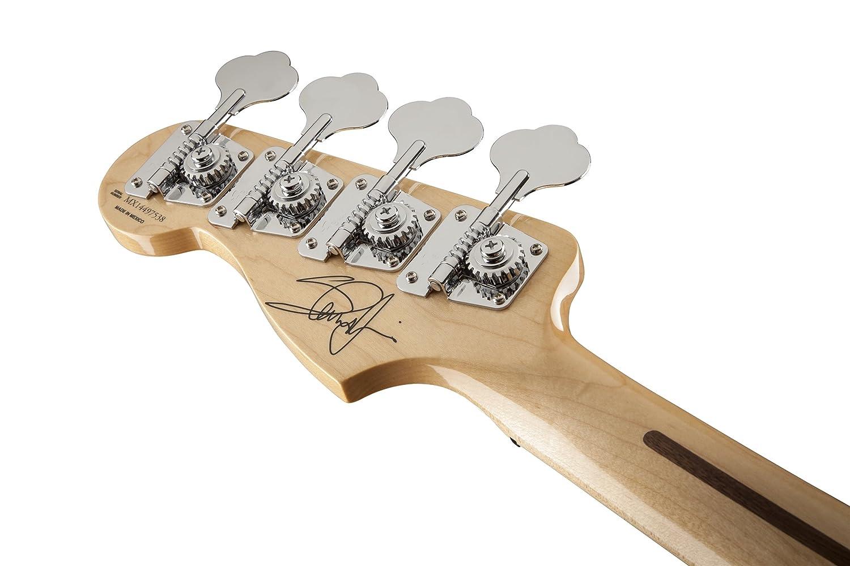 Fender 0141032305 Steve Harris precisión Bass arce diapasón guitarra eléctrica - Olímpico Blanco: Amazon.es: Instrumentos musicales