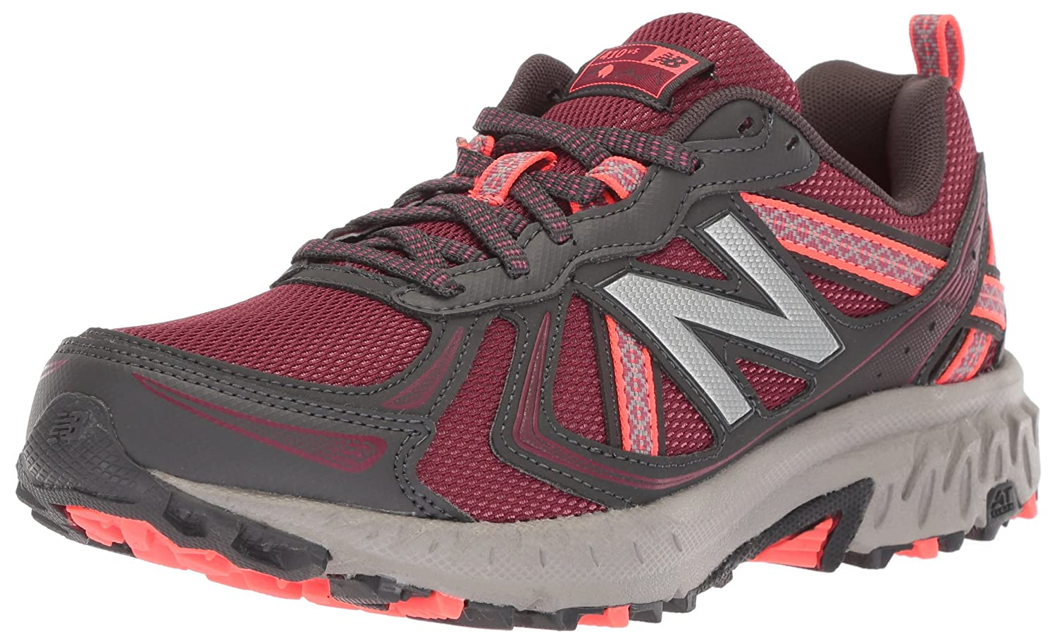 New Balance Women's WT410v5 Cushioning Trail Running Shoe B0751SG76N 10.5 D US|Vortex