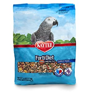Kaytee Forti Diet Pro Health Bird Food for Parrots – Best parrot food overall