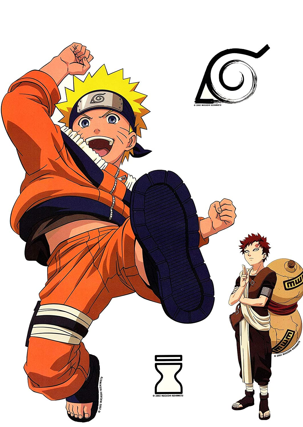 Amazon com naruto anime wall stickers and decals boys room decor toys games