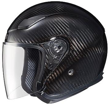 Joe Rocket RKT-Carbon Pro Open Face - Casco de moto (fibra de carbono