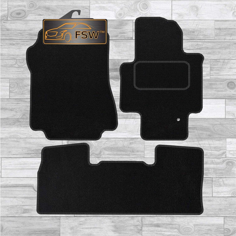 FSW Nv200 2010-On Tailored Carpet Car Floor Mats Black