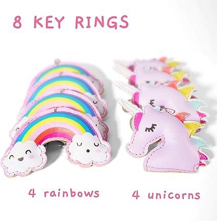Funny Happy 21st Birthday Still Believe In Unicorns Keyring Key Chain