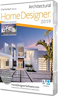 Amazoncom Chief Architect Home Designer Architectural 2018 DVD