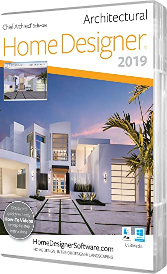 Amazon.com: Chief Architect Home Designer Architectural 2019: Software