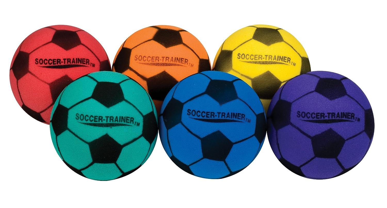 Amazon.com : Champion Sports Ultra Foam Soccer Ball Set : Indoor ...