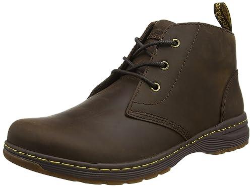 Dr. Martens Men's Emil Dark Brown Republic Chukka Boots, Brown (Dark Brown)