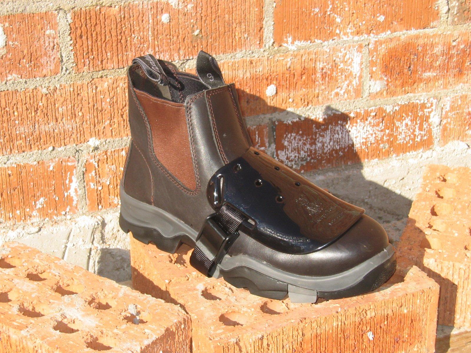 Impacto Kanga Tuff Metguard Safety Footwear Metatarsal Protection Attachment - 20pairs (1 Case) By Sena Safety