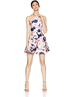 Amazon.com  Speechless Women s Off The Shoulder Fit and Flare Dress ... 9310af4d8