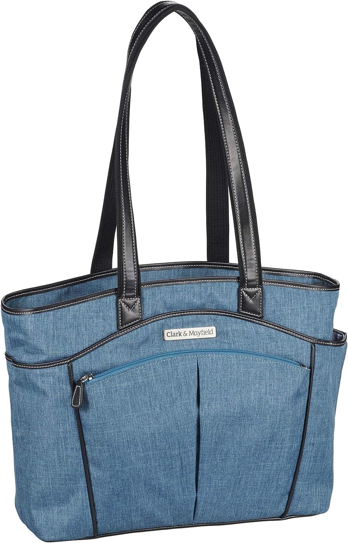 "Clark & Mayfield Reed Laptop Handbag 15.6"" (Deep Teal)"