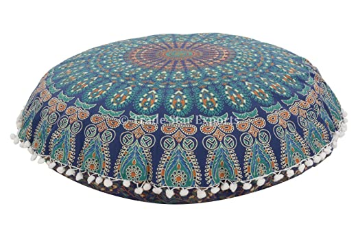 Trade Star Exports Mandala Pillow Case 32