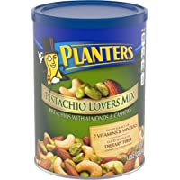 Planters Deluxe Pistachio Mix, 18.5 oz. Resealable Container | Pistachio Lover's Mix: Pistachios, Almonds & Cashews | Mixed Nut Snacks | Kosher (00029000017191)