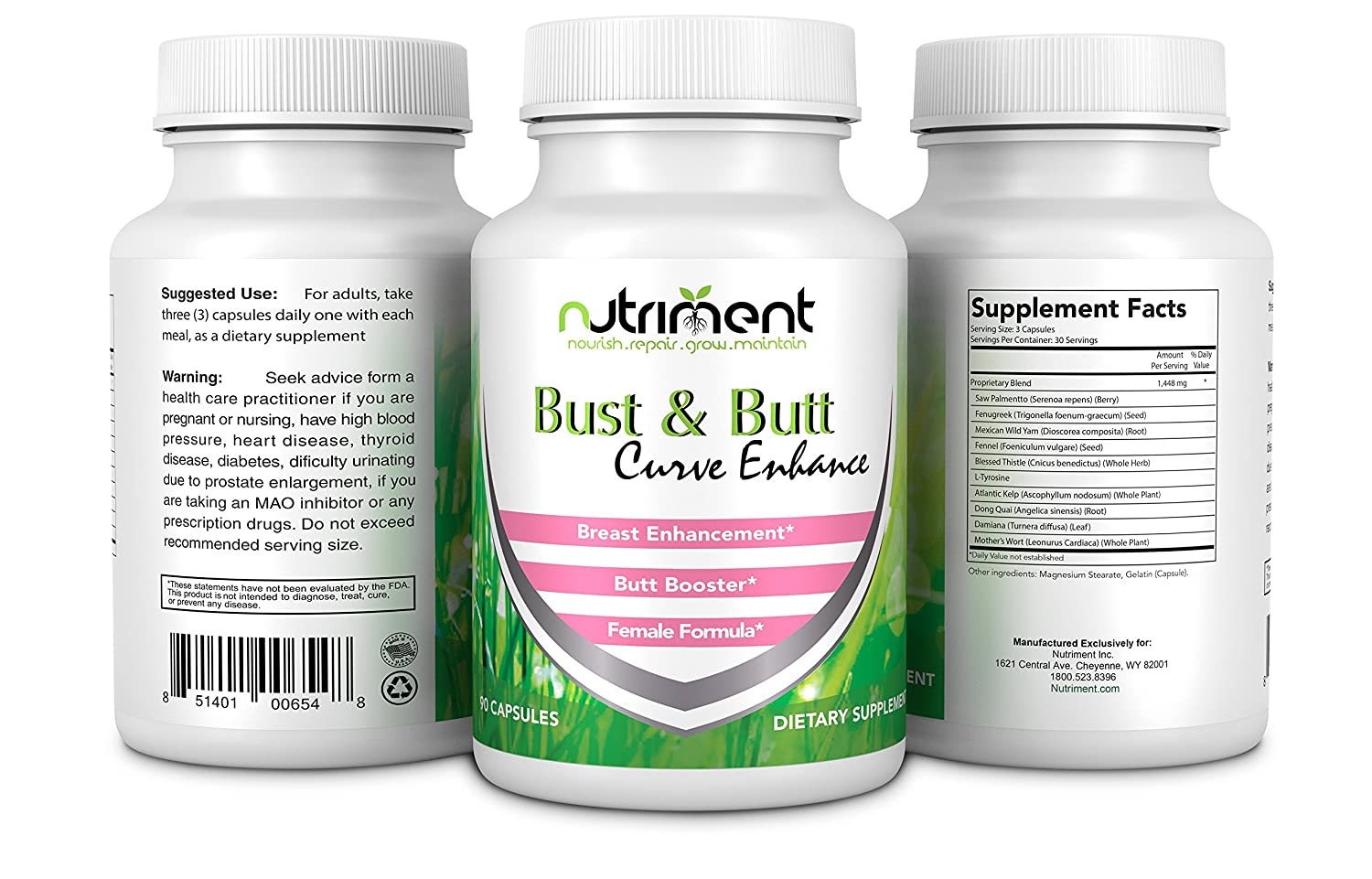 ca449bd499 Amazon.com  Breast and Buttock Enhancing pills-Increase Bust and Butt Size  and Shape -Sculpt Your Body Like Never Before-Promotes Increased Curves and  ...